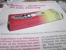 Das war die DDR Alltag Einkaufen Isolator Zündkerzen für jedes Fahrzeug