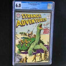 Strange Adventures #118 (1960) 💥 CGC 6.0 OW-W 💥 Turtle Men of Space! DC Comics