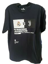 Real Madrid VS Juventus Aug. 4, 2018 in DC s/s t-shirt NWT adult size S