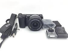 Sony Alpha NEX-5T Mirrorless 16.1MP Digital Camera W/ SELP1650 16-50mm Zoom Lens