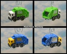 Garbage Truck Refuse Recycle Custom Christmas Ornament Adorno Waste Management