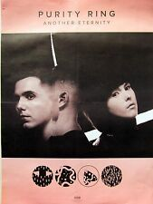 "PURITY RING ""ANOTHER ETERNITY"" U.S. PROMO POSTER - Electronic, Witch House Music"