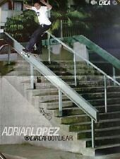 Circa sneakers 2000 Adrian Lopez skateboard poster Flawless New Old Stock