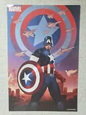 """Marvel Captain America Poster 18"""" x 12"""" (2019) NYCC Exclusive NEW"""
