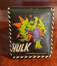 1978 Marvel Hulk Collectable Wallet