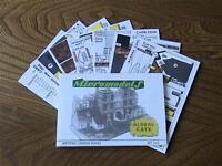Micromodels ALDER'S GATE HISTORIC LONDON SERIES SET HL5 card model kit