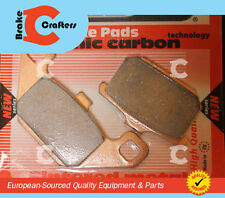 1985 - 1986 KAWASAKI ZL900 ELIMINATOR - EUROPEAN AD CARBON BRAKE PADS 1 SET