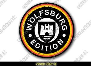 2 x Campervan stickers 010 vinyl decal Wolfsburg camper adventure motorhome