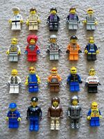 LEGO - Rare Various Minifigs - Lot of 20 Minifigs