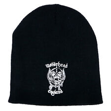 Authentic MOTORHEAD Warpig Logo Embroidered Beanie NEW e1eddae9ecf3