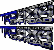 TRD 4X4 OFF ROAD DECALS 4X20 V6 TH3 TOYOTA TUNDRA TACOMA SPORT 4RUNNER STICKERS