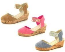 Chaussures moyens en toile pour fille de 2 à 16 ans