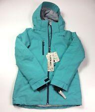 Liquid F24 Womens Ski Jacket 10 000 MM Winter Hooded Full Zip Long Sleeve Size S