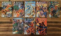 Marvel Fantastic Four (1996) #1-7 Lot of 8 VF comics 1 variant