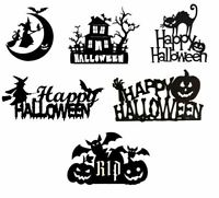 Happy Halloween Cake Topper Glitter Cake Topper Halloween Party Decoration