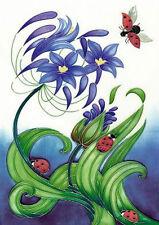 Moorcroft Card - FLY AWAY HOME  Designer: Rachel Bishop