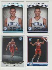 Ben Simmons - 2016/17 Panini Studio/Complete Basketball / 4 cards