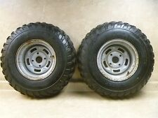 CAN AM Bombardier 500 TRAXTER  4X4 Used Rear Wheel Rim Set 2000 RB6