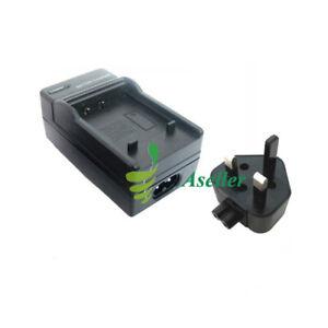 Battery Charger For Casio NP-40 Exilim Zoom EX-Z300 EX-Z400 EX-Z55 EX-Z50 EX-Z57