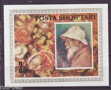 Albanien Block   93   ** Pierre Auguste Renoir  Gemälde
