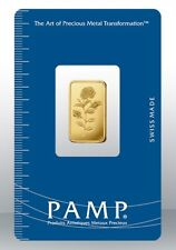 Gold bullion Pamp 2.5g minted bar Sealed + Certificate