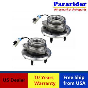 2 Front Wheel Bearing & Hub Assembly Fits 07-09 Chevy Equinox Pontiac 513276