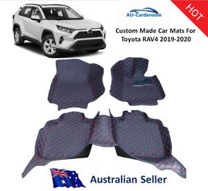 New Toyota RAV4 2019-2021 Full Surrounded Custom Tailored Car Floor Mats/Carpets