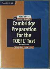 Cambridge Preparation for the TOEFL iBT Test @ 8 Audio CDs Fourth Edition @NEW@