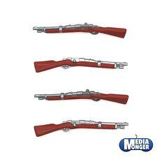 Playmobil ® Western | ACW | soldados | garde arma: 4 x mosquetón | rifle