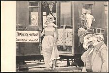 Casino. Direction Monaco. Train des moutons. Vers 1904.