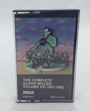 The Complete Glenn Miller Volume VIII 1941-1942 Cassette Tape Tested Music Audio