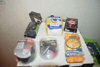 LOT  5 CHAMBRE A AIR + PATIN DE FREIN VELO MICHELIN HUTCHINSON SPECIALIZED NEUF