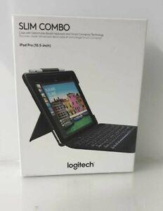 Logitech 820-008259 Slim Combo iPad Keyboard iPad Case Open Box - Never Used