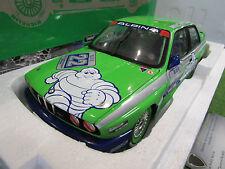 BMW M3 ALPINA 1er HOCKENHEIM DTM 1988 vert Michelin au 1/18 MINICHAMPS 180882022