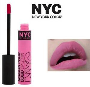 NYC SMOOTH PROOF LIQUID LIP STAIN 300 IN THE SPOTLIGHT (PINK) 7ML (PACK OF 2)