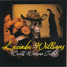Lucinda Williams World Without Tears RARE promo sticker 2004