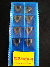 SUPER 10pcs 16ER 2.0ISO SMK01 CNC lathe Threading Turning   Carbide Inserts