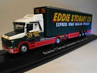 EDDIE STOBART MODEL TRUCK SCANIA CURTAINSIDER ARTIC LORRY T CAB BOXED new UK