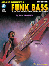 Funk Bass Guitar Learn How To Play Lessons Tab Hal Leonard Book Online Audio NEW