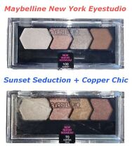 Buy 1 get 1 FREE. 2 Maybelline New York Eyestudio Sunset Seduction + Copper Chic