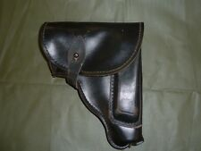 MAKAROV PISTOL HOLSTER BLACK LEATHER