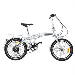 """20 Pollici SHIMANO 7 Marce Bicicletta Pieghevole 20"""" Bambini Bici Folding Bike"""
