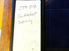 JT9D-7 Series Engines Troubleshooting Training Manual