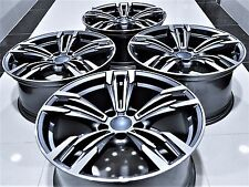 "18"" M6 STYLE STAGGERED WHEELS RIMS FITS BMW 1 3 4 5 SERIES X3 X4 Z3 Z4 5456"