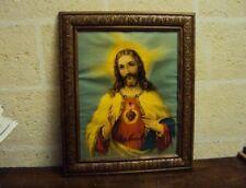 Art.017-Vecchio quadro figurante SACRO CUORE DI GESU'