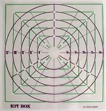 Cake top marking template for Sugarcraft & Cake decorating NEXT DAY DESPATCH