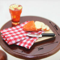 1:12 Strip bread chopping board miniature models for doll house PnMWUS