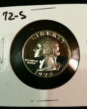 1972-S,,,,,,US PROOF QUARTER,,,, FROM US PROOF SET