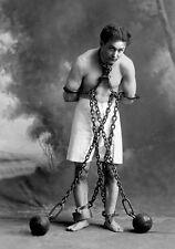8x10 Print Magician Harry Houdini 1915 #H397