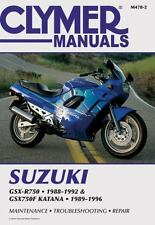 1988-1996 Suzuki GSXR750 GSX750F Katana Repair Manual 1991 1993 1994 1995 M4782
